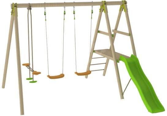 Trigano Dřevěná sestava 230 cm malá - Houpačka