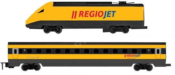 Rappa Vlak RegioJet se zvukem a světlem - Vláček