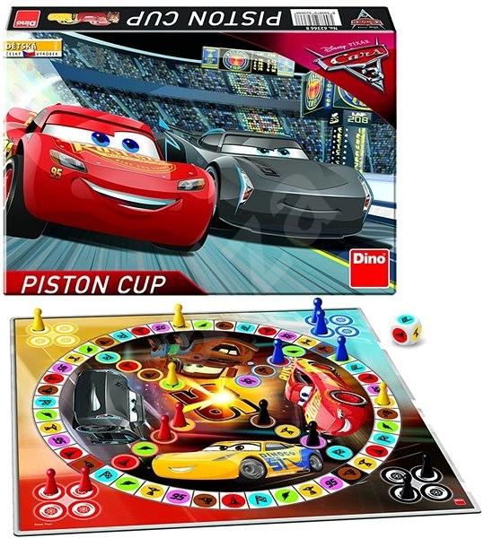Dino Cars 3 Pojeď si Hrát  - Společenská hra