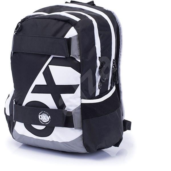 c9df93efe21 Karton P+P Oxy Sport I. Black   White - Dětský batoh