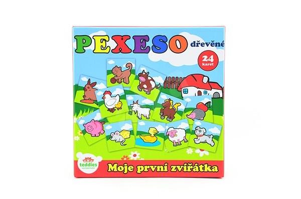 Teddies Pexeso Moje první zvířátka - Pexeso