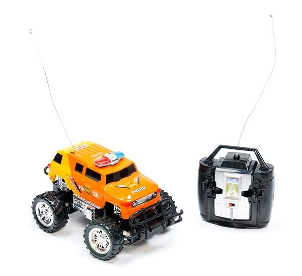 Teddies Monster Truck oranžový - Auto