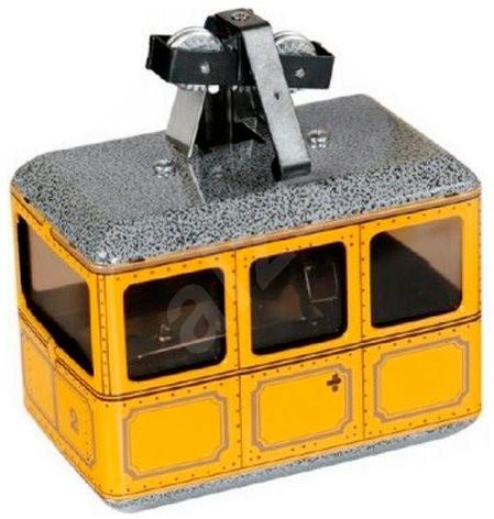 Kovap Lanovka žlutá na klíček  - Kovový model