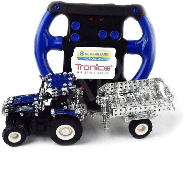 Tronico RC Traktor přívěsem Micro New Holland T5.115  - Stavebnice