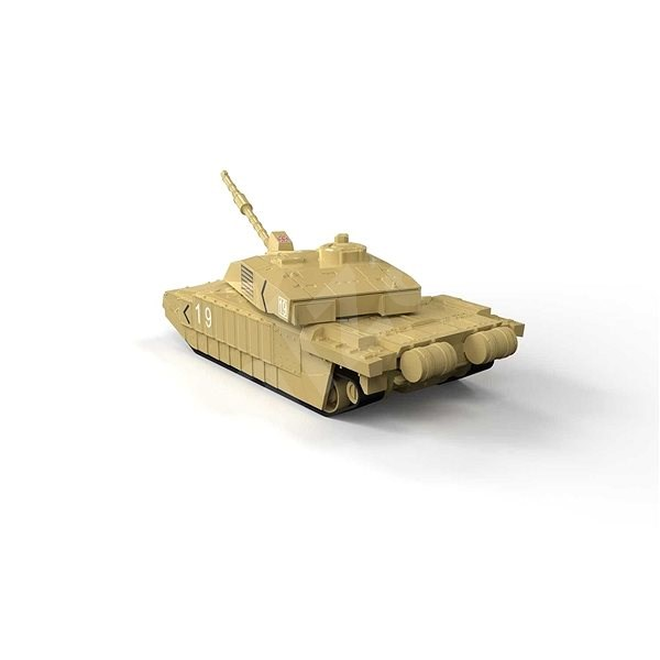 Airfix Quick Build J6010 tank – Challenger - Plastikový model