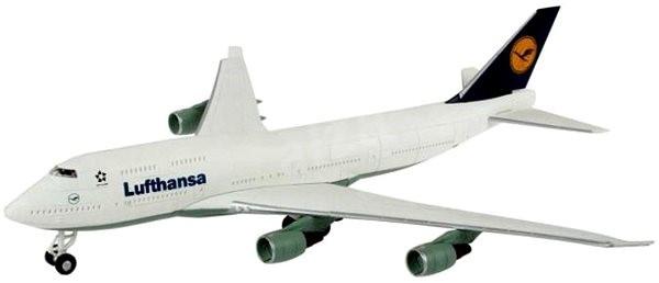 Revell Easy Kit 06641 letadlo – Boeing 747 Lufthansa - Plastový model
