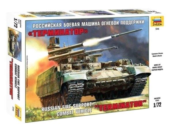 """Zvezda Model Kit Z5046 military – BMPT """"Terminator"""" - Plastikový model"""