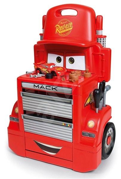 Smoby Cars 3 Pojízdná dílna Mac Truck - Herní set