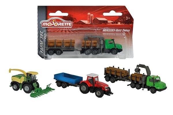 Majorette Farm Set - Auto