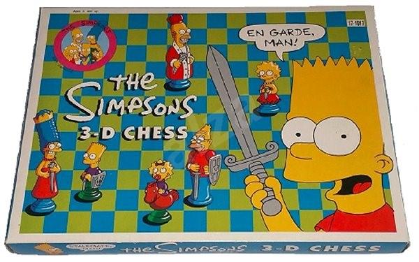 The Simpsons Šachy - Společenská hra