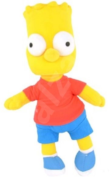 The Simpsons Bart - Plyšová figurka