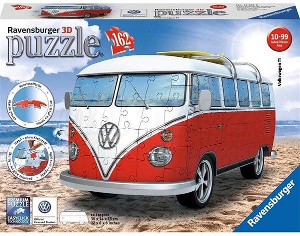 Ravensburger 3D 125166 VW autobus - 3D puzzle