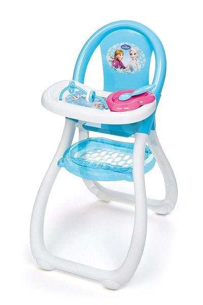 Smoby Ledové království Jídelní židlička - Doplněk pro panenky