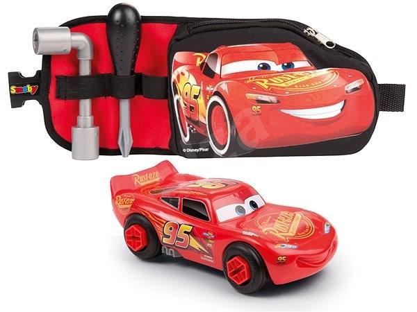 Smoby Cars 3 Sada nářadí s autem opasek - Herní set