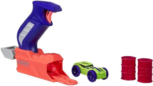 Nerf Nitro Throttleshot Blizt – modrý - Herní set