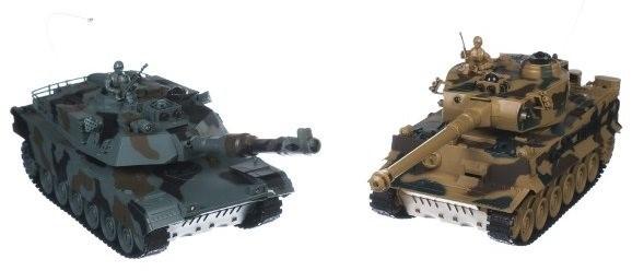 Tank RC 2ks - Tank na dálkové ovládání
