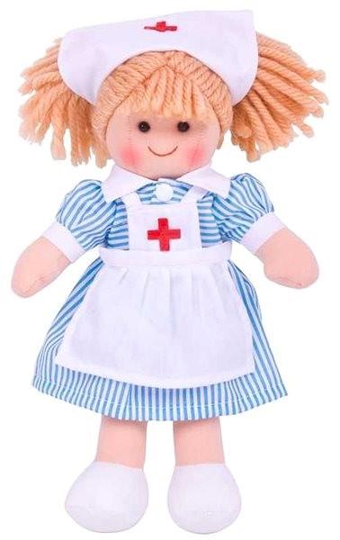 Bigjigs zdravotní sestřička Nancy 25 cm - Panenka