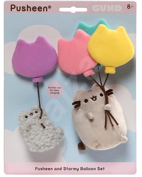 Pusheen and Stormy Baloon set - Plyšák