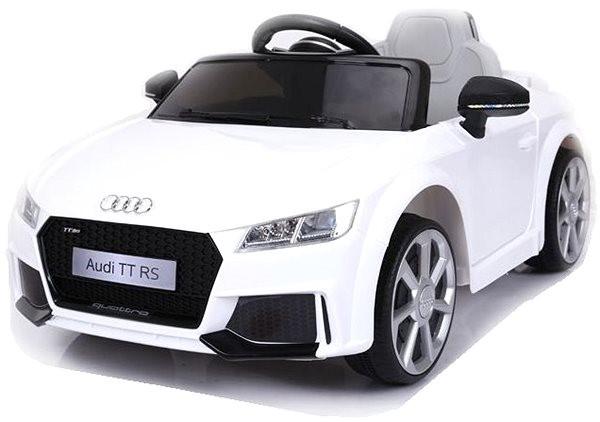 Audi TT RS bílé - Dětské elektrické auto