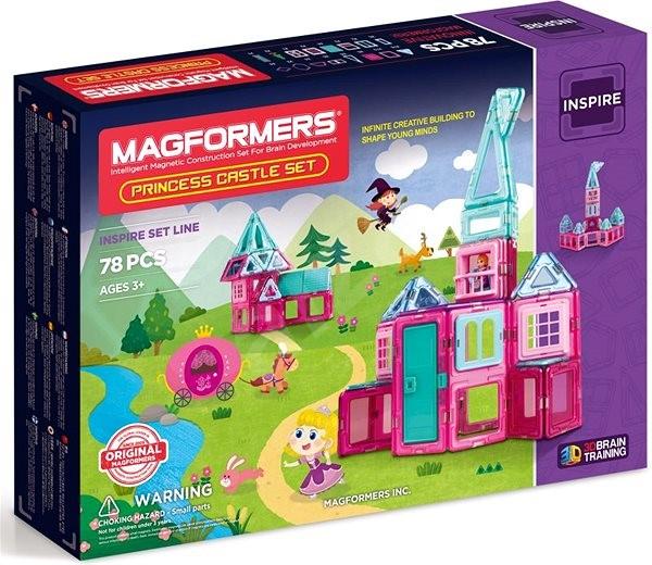 Magformers Princess Castle - Magnetická stavebnice