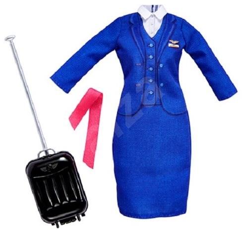 Barbie Profesní oblečení Letuška - Panenka