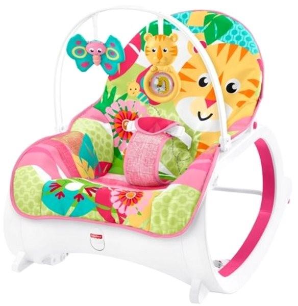 Fisher-Price Sedátko s tygříkem růžové - Dětské lehátko