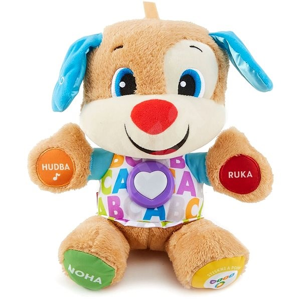 Fisher-Price Talking Doggy CZ - Interactive Toy