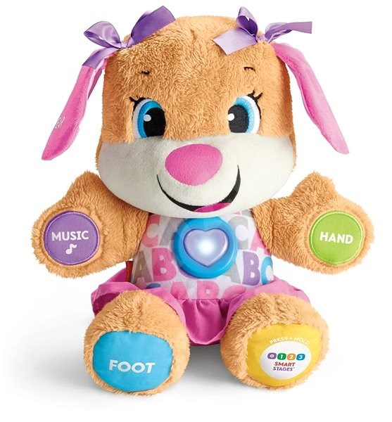 Fisher-Price Talking Dog Smart Stages Sis CZ - Interactive Toy