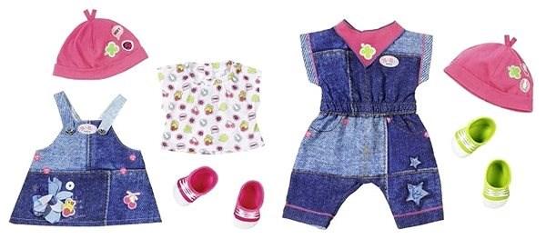 BABY Born Džínová souprava 1 ks - Doplněk pro panenky