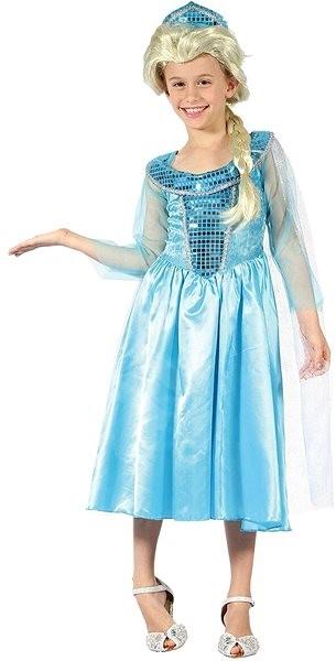 30a0c9386344 Ledová princezna vel. M - Dětský kostým
