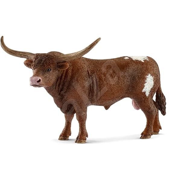 Schleich 13866 Texasský longhornský býk - Figurka