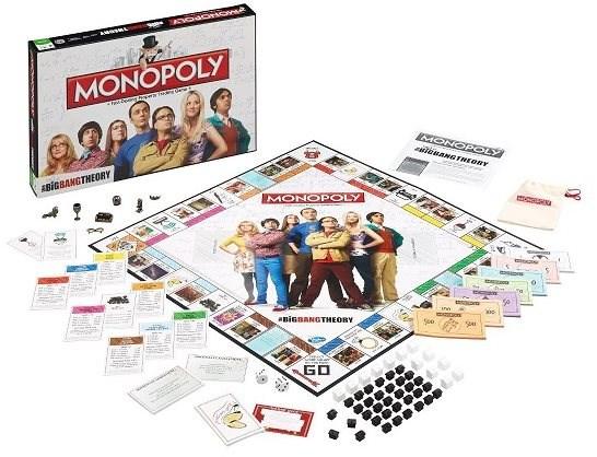 Monopoly The Big Bang Theory, ENG - Společenská hra