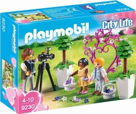 Playmobil 9230 Fotograf s družičkami - Stavebnice