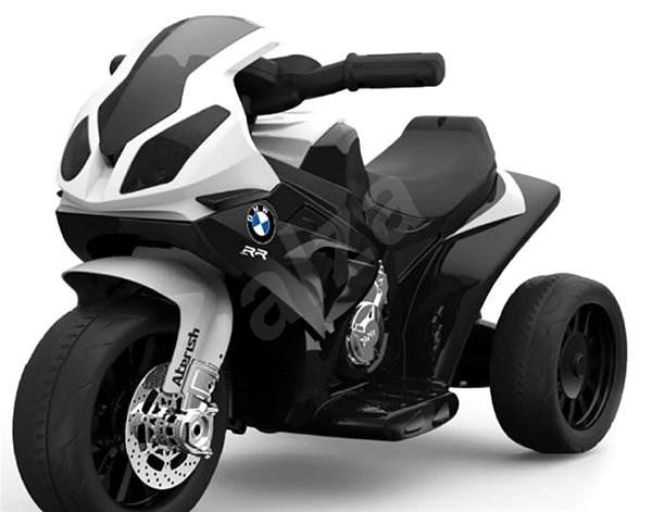 BMW S 1000 RR tříkolka bílá - Dětská elektrická motorka