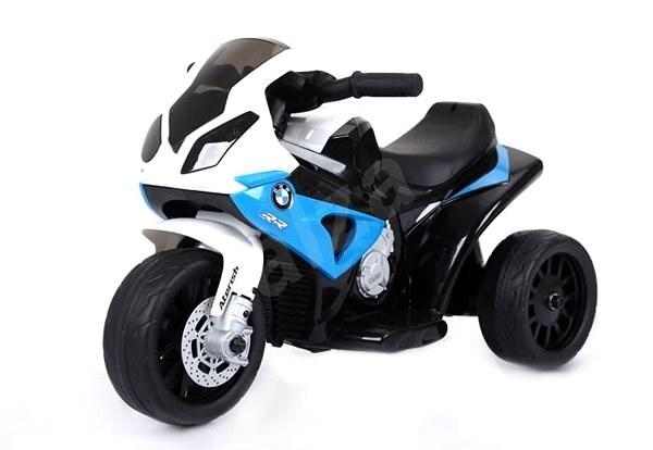 BMW S 1000 RR tříkolka modrá - Dětská elektrická motorka