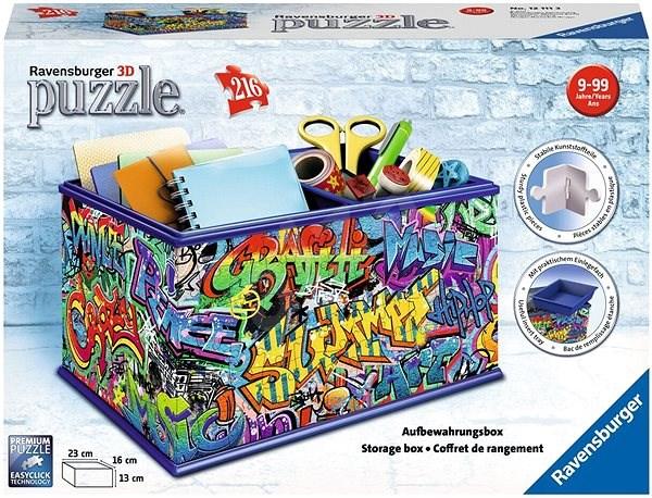 990bf5d61 Ravensburger 3D 121113 Úložná krabice Graffiti - 3D puzzle | Alza.cz