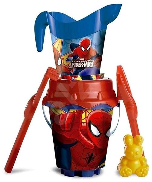 Spiderman s konvičkou - Sada na písek