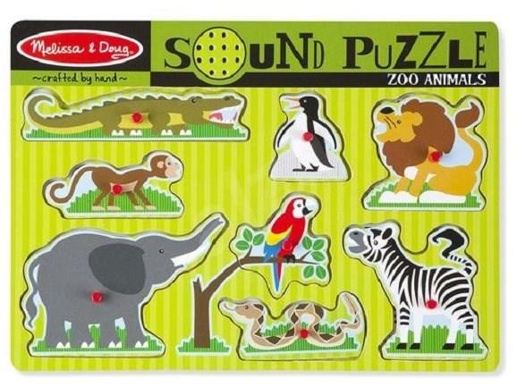 ZOO  - Dřevěné Puzzle