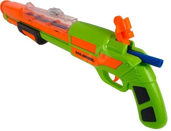 BuzzBee Long Distance darts Rail Raider - Dětská pistole