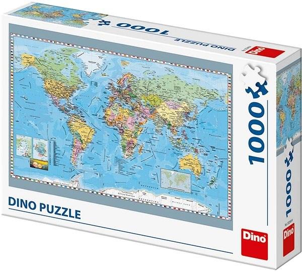 Politická mapa světa - Puzzle