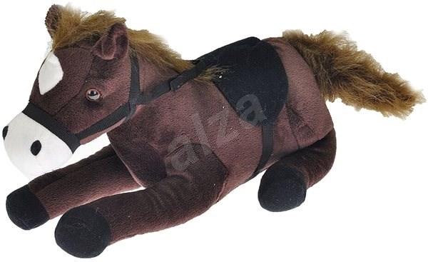 Kůň - tmavě hnědý - Plyšák