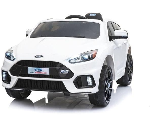 Ford Focus RS bílý - Dětské elektrické auto