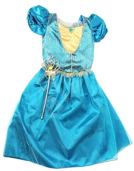 2572a90fbba Šaty pro princeznu - modrá - Dětský kostým