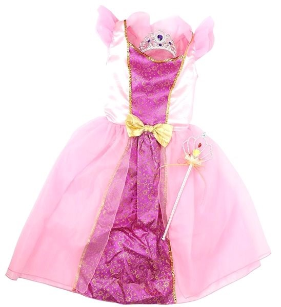 12a4cc92ff22 Šaty pro princeznu - růžová - Dětský kostým