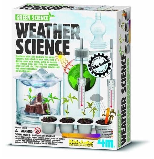 Meteorologická stanice - Experimentální sada