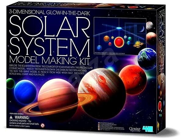 Vyrob si sluneční soustavu menší - Model