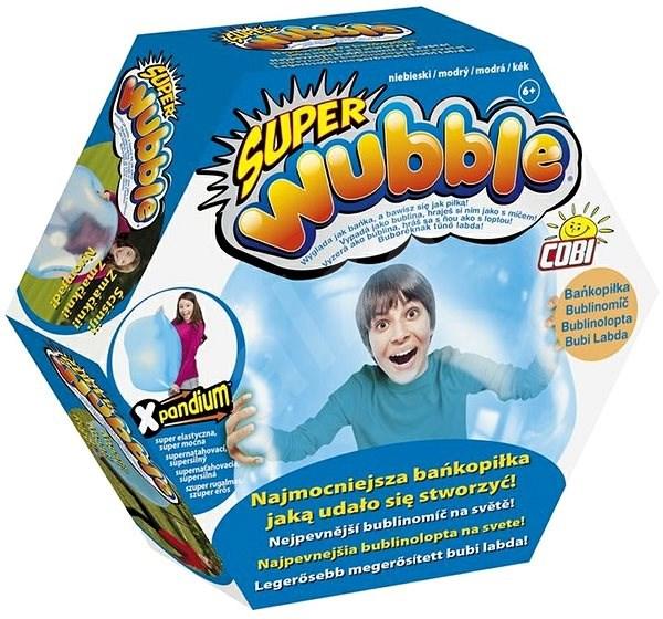 Super bublinomíč - modrý - Nafukovací míč
