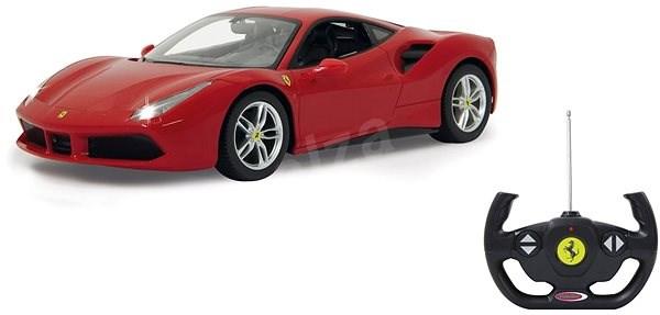 Jamara Ferrari 488 GTB 1:14 - červené - RC auto na dálkové ovládání