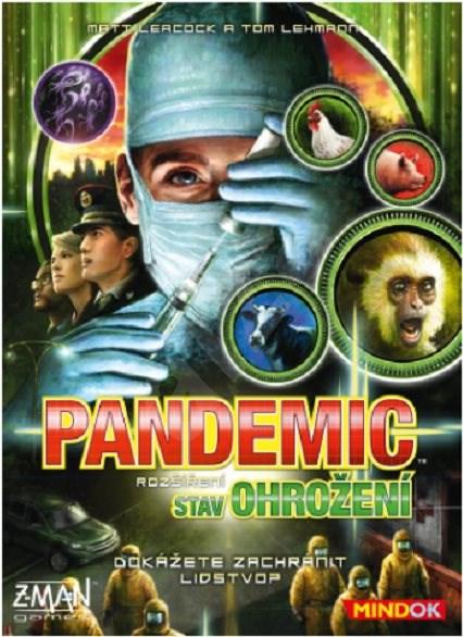 Pandemic: Stav ohrožení - Rozšíření společenské hry