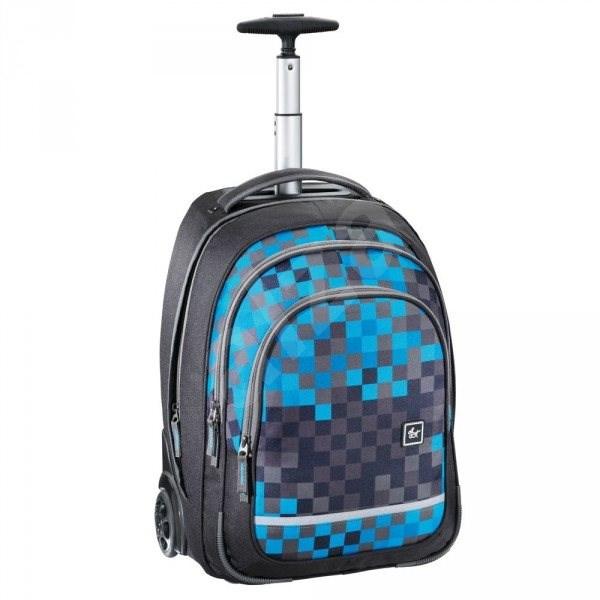 d90aec8756d Trolley All Out Blue Pixel - Školní batoh